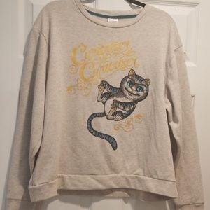 Alice in wonderland sweatshirt Cheshire cat